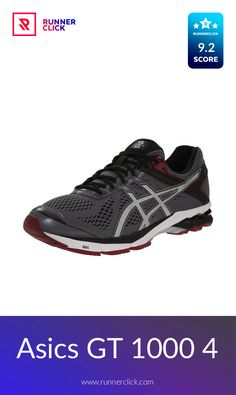 Asics GT 1000 4 Running Equipment, Asics Gt, Running Shoe Reviews, Gel Cushion, Asics Running Shoes, Workout Shoes, Entry Level, Two By Two, Website