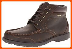 Rockport Men's Rugged Bucks Moc Boot Waterproof Dark Tan 6.5 W (EE) - Mens world (*Amazon Partner-Link)