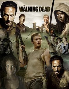 The Walking Dead- My husband and I LOVE this show.  We could talk about it for hours!!!