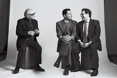 Martin Scorsese, Leonardo DiCaprio and Jonah Hill Discuss 'The Wolf of Wall Street' Brigitte Lacombe, Jonah Hill, Tv Show Music, Wolf Of Wall Street, Elegant Man, Martin Scorsese, The Hollywood Reporter, Matthew Mcconaughey, Leonardo Dicaprio