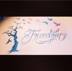#Freedom #LGBT Tattoo Credit to; IG: ez_thirdwish