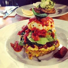 Corn, Halloumi Fritters - Axil Coffee Roasters - One of my favourites.