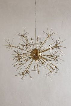 andelion Orbit Chandelier by: Anthropologie