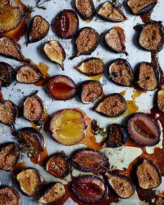 Cardamon Rice with Oven Roasted Autumn Fruit — Kitchen Repertoire