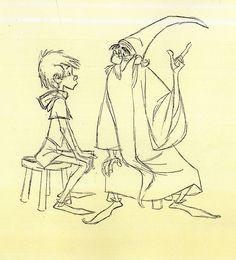 Sword in the Stone ✤ || CHARACTER DESIGN REFERENCES | キャラクターデザイン | çizgi film • Merlin l'enchanteur, mon préféré :)