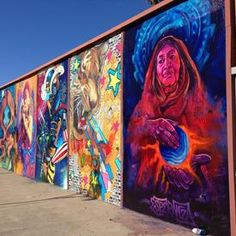 #mural in North Park area of San Diego, CA
