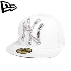 59FIFTY NEW ERA Newyork Yankees Big One Iced Up Swarovski Collaboration Limited #Fashion #Style #Deal#Newera#Swarovski