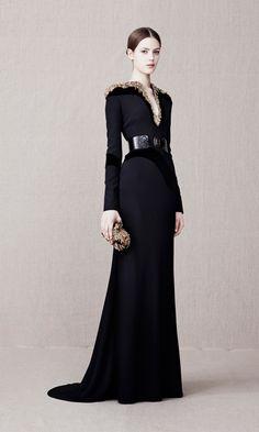ALEXANDER MCQUEEN Glory Embellished Floor Length Gown....in love!!