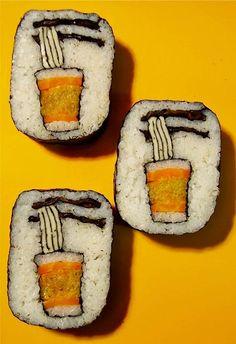 201314091348245535 Удивительный суши арт