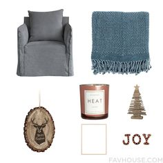 Decor Advice Including Sofa Cotton Throw Holiday Decoration And Unscented Candle From December 2016 #home #decor
