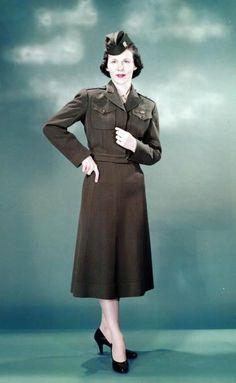 Navy nurse aviation uniform, 1948