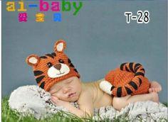 2 st pasgeboren baby baby gebreide trui gehaakt fotografie prop 3- 9m#129