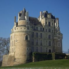 """Le Château de Brissac. 15Km from Angers in the Loire, France. Yet another """"dame blanche"""" or white lady. Again a wife murdered by her husband after discovery in the arms of a lover. Charlotte de Valois is said to haunt the castle on stormy nights, after her murder by her husband Jacques de Brézé. Considering it is now a family run hotel, it is of course a good yarn for paying customers interested in the strange."""