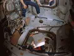 Астрономия для детей: Разгрузка космического корабля