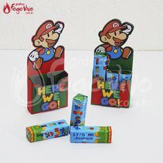 Caixa p/ Bis Super Mario Bros. Link: http://www.graficafogovivo.com.br/loja/shapes/kits-digitais/kit-digital-super-mario-bros.html