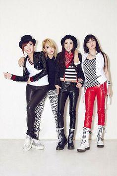 2NE1 Japan Crush