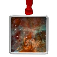 NASA Carina metal christmas ornamanent