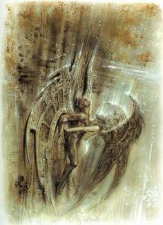 El Angel Caído III - Luis Royo