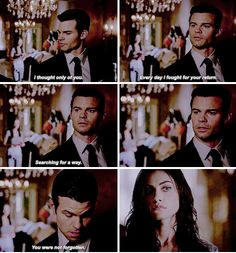"#TheOriginals 3x02 ""You Hung the Moon"" - Elijah and Hayley"