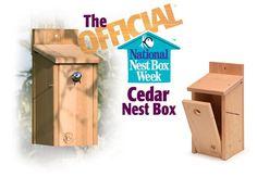 Image: The Official™ Cedar Nest Box