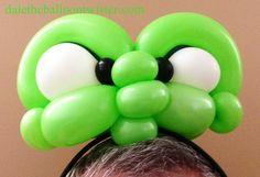 Alien/Amphibian/Reptile/Angry Kid headband inspired by Alberto Nava & David Brenion.