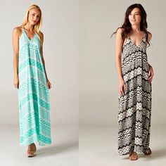 The print and cut on these new maxi dresses are gorgeous! FREE SHIPPING (at http://www.hazelandolive.com)