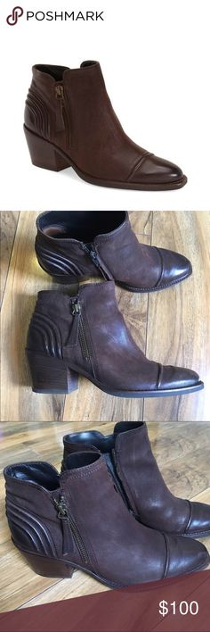Paul Green oiled leather Diandra Bootie Paul Green oiled leather Diandra Bootie Gently used Paul Green Shoes Ankle Boots & Booties