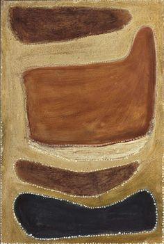 Two men dreaming, (circa by Rover Thomas :: The Collection :: Art Gallery NSW Indigenous Australian Art, Indigenous Art, Australian Artists, Aboriginal Painting, Aboriginal Artists, Encaustic Painting, Mark Rothko Paintings, Australian Painting, Aboriginal Culture