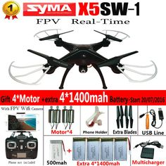 100% Original SYM... Now available on our store http://www.yabizy.com/products/100-original-syma-x5sw-wifi-rc-drone-fpv-quadcopter-with-camera-headless-2-4g-6-axis-real-time-rc-helicopter-quad-copter-toys?utm_campaign=social_autopilot&utm_source=pin&utm_medium=pin ......Free shipping worldwide on all orders over € 5.