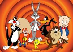 Os primeiros desenhos animados eram em preto e branco,os principais personagens eram muito semelhantes.