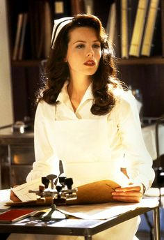 For Halloween?!? A classy nurse❤ not some overly sexed up version, I love her in this movie.