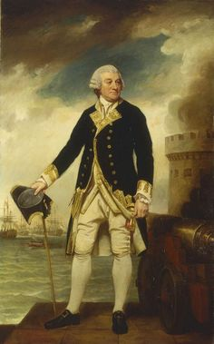 Admiral Sir Francis Geary by George Romney