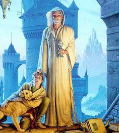 Mage blanc et son disciple