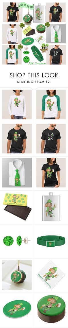 """Luck Of The Irish"" by jnccreations ❤ liked on Polyvore"