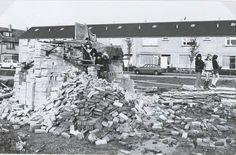 Nieuwbouw in Krooswijk 1974