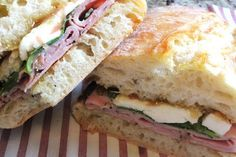 ValSoCal: Ham and Fig-Jam Sandwiches