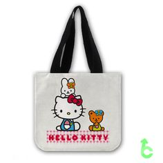 Cheap hello kitty with friends Tote Bags