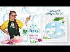 Soap Testing Jasmine Fragrance Oil- Natures Garden #naturesgarden #soaptesting #jasminefragranceoil
