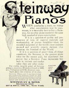 Steinway ad, NY office