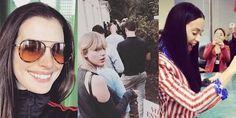 بالصور: مشاهير أميركا صوّتوا ووثّقوا عبر انستغرام #يومياتي #نجومي