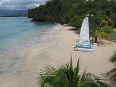REX Grenada beach boats