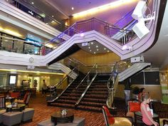 Cruise. Pacific Pearl . P&o Cruises, Atrium, Diaries, Boat, Ship, Spaces, Pearls, World, Dinghy