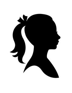 Custom Child Silhouette Made from your photo by LyndsayJohnson