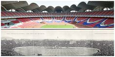 Biggest Stadium Then and Now: Stuff has gotten much, much bigger in the past 100 years.