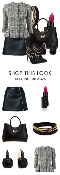 """Badass Chic"" by i-love-shoes ❤ liked on Polyvore featuring Guild Prime, Serge Lutens, Fendi, Vita Fede, Pomellato and Alexander McQueen"