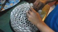 Kağıt Sanatı - Küresel Tetra Lamba Tasarımı - Kağıt Sanatı - teknikleri, örnekleri ve ipuçlarını videolu anlatımı. Kağıttan hediyelik ve özel günler için küresel tetra lamba yapımı (How To Make Your Own Spherical TetraLamp Shade Video)