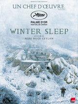 """""""Winter sleep"""" film de Nuri Belgi Ceylan . Palme d'or 2014. Dans un hôtel isolé par la neige d'une Cappadoce d'Anatolie belle à couper le souffle, huis clos  entre 3 personnages :un comédien vieillissant, sa femme et sa soeur. Cet enfermement va les conduire à régler leurs comptes et à se déchirer. Dans un paysage grandiose, les petitesses de la nature humaine . Durée du film : 3h15"""