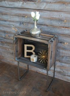 Roundup: 10 Industrial Chic DIY Furniture Projects