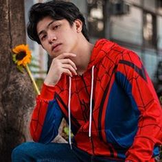 Image may contain: 1 person, outdoor Ranz Kyle, We, Actor Model, Korean Outfits, Haha, Avengers, Actors, Boys, Outdoor