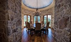 Dining Area in a Stucco/Stone house in Avon Colorado [920x553] http://ift.tt/2exNggJ